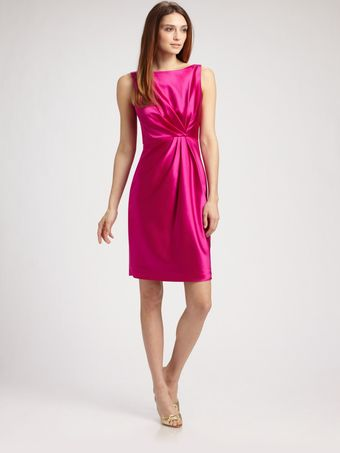 Calulla Lillibelle Stretch Silk Satin Dress - Lyst