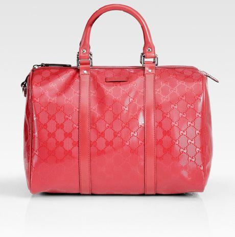 Gucci Boston Bag Review Gucci Joy Boston Medium Bag in