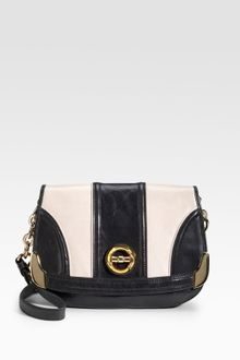 Milly Flap Leather Shoulder Bag - Lyst