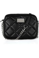Michael by Michael Kors Hamilton Leather Cross-body Bag - Lyst