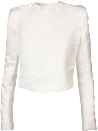Antonio Berardi Shoulder Button Jacket - Lyst