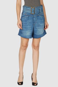 See By Chloé Denim Bermudas - Lyst