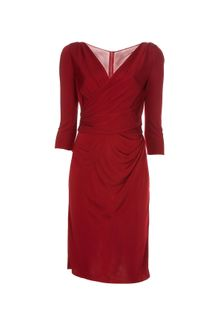 Dolce & Gabbana Wrap Over Dress - Lyst