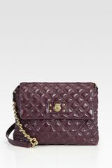 Marc Jacobs Lacquered Quilting Leather Bag - Lyst