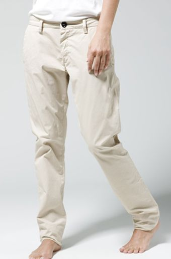 Acne Joy Chinos in Beige - Lyst