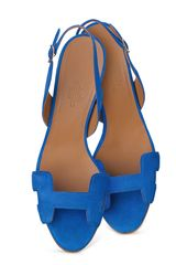 Hermes Night Sandal in Blue - Lyst