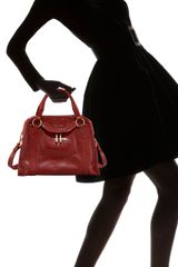 Marc Jacobs Classic Satchel in Black (red) - Lyst
