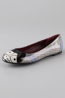 Marc By Marc Jacobs Miss Marc Patent Flats - Lyst