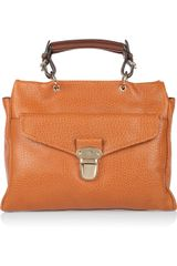 Mulberry Polly Push Lock Leather Tote - Lyst