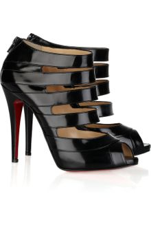 Christian Louboutin Gril 120 Patent-leather Sandals - Lyst