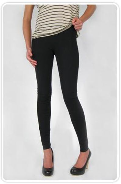Helmut Lang Reflex Stretch Leggings in Black in Black - Lyst