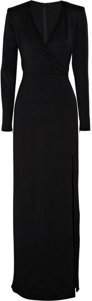 The Row Roebling Stretch-wool Gown - Lyst