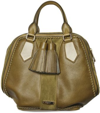 Burberry Prorsum Grainy Calfskin Leather Top Handle - Lyst