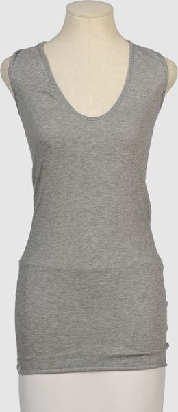 Enza Costa Sleeveless Sweater - Lyst