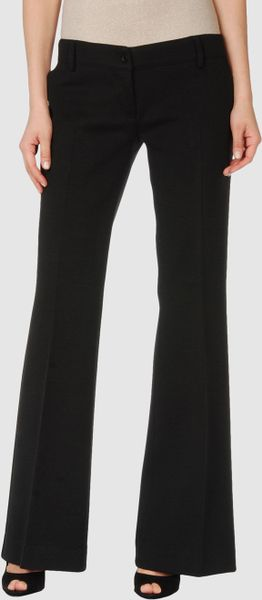 L'autre Chose Casual Pants in Black - Lyst