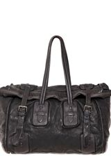 Neil Barrett Horse Leather Weekender Bag - Lyst