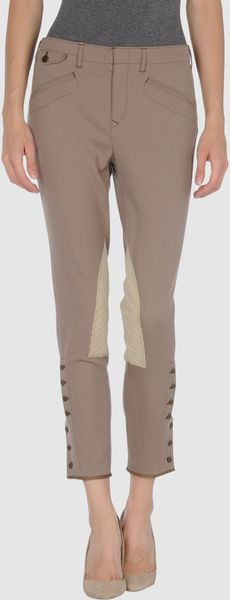 Ralph Lauren Casual Pants in Beige (camel) - Lyst