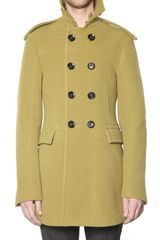 Burberry Prorsum Sponge Hand Double Wool Car Coat - Lyst