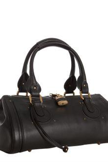Chloé Black Calfskin Paddington Satchel - Lyst