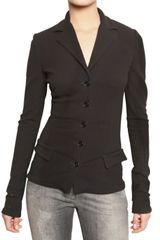 Dolce & Gabbana Stretch Viscose Jersey Jacket - Lyst