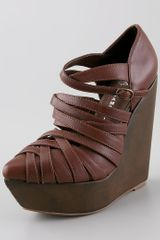 Jeffrey Campbell Zara Wedge Sandals - Lyst
