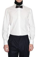Lanvin Cotton Poplin Shirt - Lyst