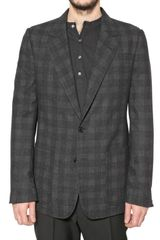 Maison Martin Margiela Checked Lightweight Flannel Jacket - Lyst