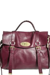 Mulberry Oversized Alexa Soft Buffalo Satchel - Lyst
