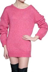 Vanessa Bruno Mohair Wool Knit Sweater - Lyst