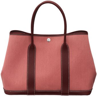 Hermes Garden Party Bag - Lyst