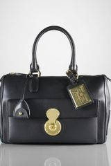Ralph Lauren Collection Boston Calfskin Bag - Lyst