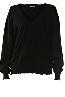 Bottega Veneta Oversized Cashmere V-neck Sweater - Lyst
