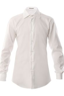 Bottega Veneta Solid White Shirt - Lyst
