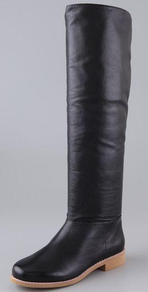 Самые красивые и модные сапожки на каблуке