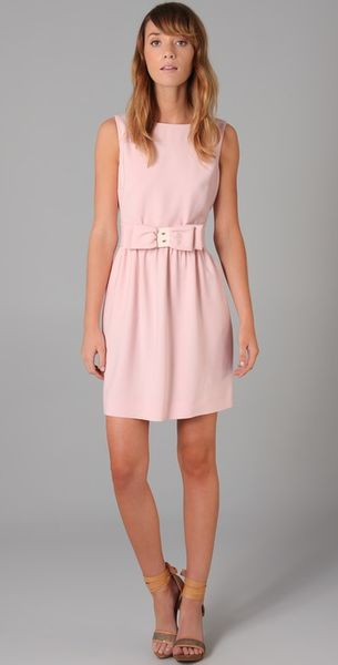 RED Valentino Sleeveless Dress with Bow - Lyst