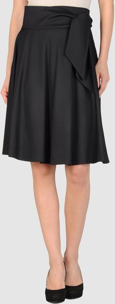 Alexis Mabille Knee Length Skirt - Lyst
