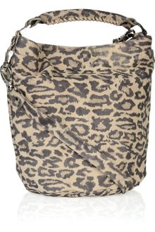 Be & D Leopard-print Leather Tote - Lyst