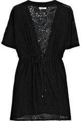 Calvin Klein Collection V-neck Lace Kaftan - Lyst