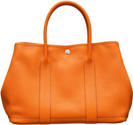 Hermes Garden Party Bag in Orange - Lyst