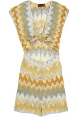 Missoni Mare Alabama Cutout Crochet-knit Playsuit - Lyst