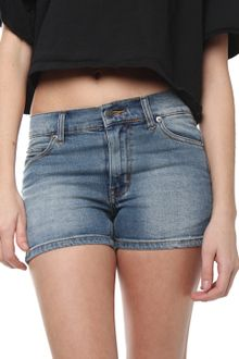 Cheap Monday Spring Jean Shorts in Washed Denim - Lyst