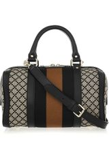 Gucci Boston Diamante-print Canvas Duffel Bag