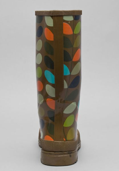 Orla kiely multi stem wellies in multicolor multi lyst for Bogs classic mid le jardin