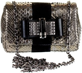 Christian Louboutin Sweety Charity Python Bag - Lyst