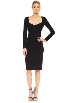 Michael Kors Crepe Sheath Dress - Lyst