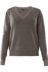Theyskens' Theory Ribbed Cashmere Sweater - Lyst