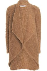 Givenchy Boucle Cardigan in Brown (camel) - Lyst