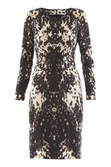 Alexander McQueen Peppered Pony Dress