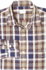 Hartford Plaid Button Down - Lyst