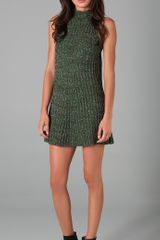 M Missoni Mock Neck Sweater Dress - Lyst